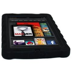 Gumdrop Cases Drop Tech Series Protective Case Cover for Kindle Fire in Black, Blue, or Green- With Screen Protection --- http://www.pinterest.com.tocool.in/c2