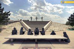 Santuario cruz gigante. GROOM, TX