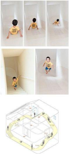 slides in house