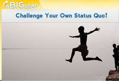 """What is a leap? The site helps anyone list their goals/tasks, enlists friends to cheer them on and will let you put big goals into smaller manageable chunks."""""""