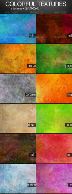 COLORFUL textures pack