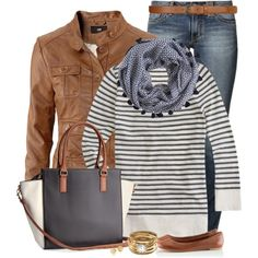 A fashion look from September 2014 featuring J.Crew t-shirts, H&M jackets and H&M flats. Browse and shop related looks.