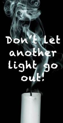 Be the light that shines bright for those who are feel like they're fading away!♥