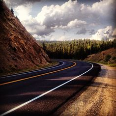 Open Road •  Photo by khabiq #sturgis