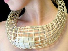 41 Examples of Bizarre Necklaces - From Caged Animal Jewelry to Facial Grooming Necklaces (TOPLIST)
