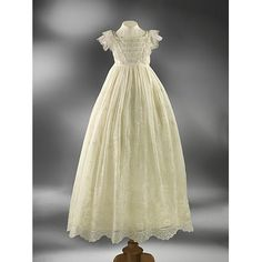 ca. 1850 christening gown.