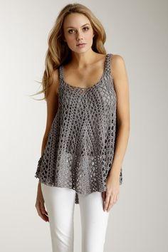 Crochet Cami top. #cami #top #crochet