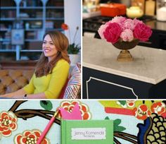 HGTV Blogger of the Month: Jenny Komenda from Little Green Notebook