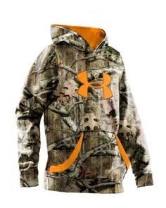 Under Armour® Big Logo Camo Hoody for Youth - Long Sleeve | Bass Pro Shops