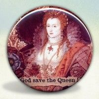 Elizabeth I Rainbow Portrait Pocket Mirror; other designs available.