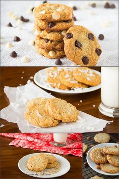 Almond Cookies with 4 variations  ~Sweet and Savory by Shinee