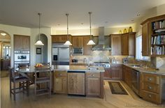 #Kitchen of the Day: Arts & Crafts Kitchens.