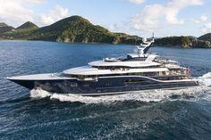 Solandge is an Impressive 85-Meter Superyacht