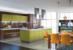 Grüne Küche / Green kitchen