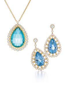 Tiffany  Co. pendant and earrings