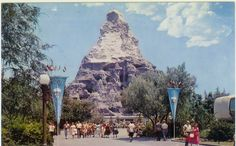 Retro MATTERHORN at Disneyland