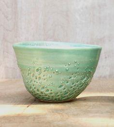 Dew Drop Stoneware Bowl