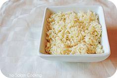 Arabic white rice recipe