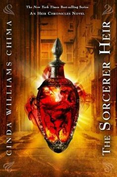 The Sorcerer Heir by Cinda Williams Chima - While trying to clear their names as the prime suspects in a series of vicious murders, Emma and Jonah must take sides in an epic battle that will decide the fate of the magical world.
