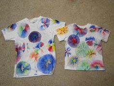 Sharpie Tye Dye Shirts.
