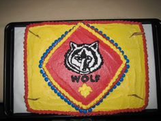 Cub Scout Wolf Cake