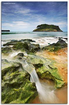 Playa de Karraspio, Lekeitio, Spain