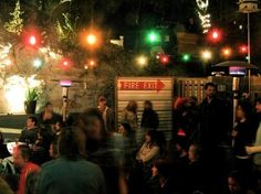 Another Red River joint, Club De Ville is an open-air spot that's meant for rock and roll. With a steady flow of regulars, they always have a good crowd for both drinking and listening to music with.