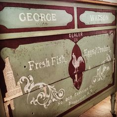 thevintagesongbird ~ LOVE this chest of drawers!