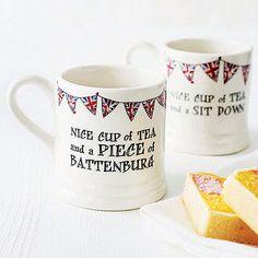 Nice cup of tea mug