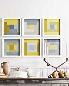 Framed quilt squares how to