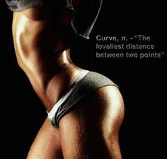 Curvy and toned!