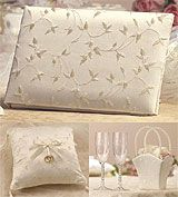 Lillian Rose Ivory Elegance Wedding Accessories Collection