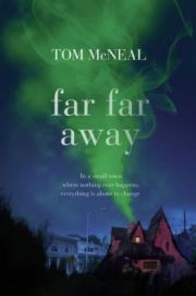 """Far Far Away by Tom McNeal Gr 7 & Up """"Listen if you will"""" to a modern take on an ancient tale, brought to life by the ghost of Jacob Grimm. This ghost can only be heard by 15-year-old Jeremy Johnson Johnson, who will need his assistance to escape from his own type of fairy tale that includes dungeons, deceit, trickery, and poison. Can a ghost, an unlikely candidate to help, really save Jeremy from becoming an unhappy ending?—Megan Egbert, Meridian Library District, ID #sljbookhook"""