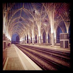 Oriente station, Lisbon, Portugal