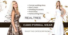 Realtree Camo Wedding Dress