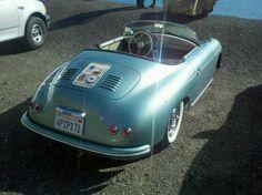 Porsche Speedster in Seafoam