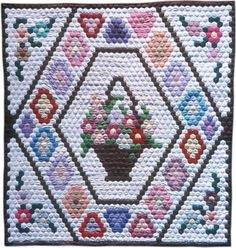 hexagon quilts | North American Indian and Native Hawaiian Quilt Collection