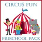 Circus Preschool Pack (free printables) from Homeschool Creations