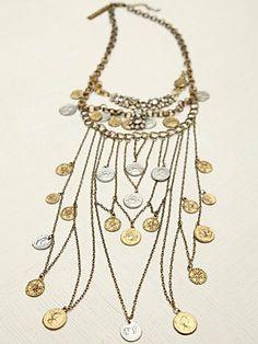 Mykonos Layered Chain Necklace