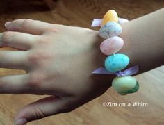 Jelly Bean Bracelet by ziimonawhim #Kids #Jelly_Bean #Bracleet #zimonawhim