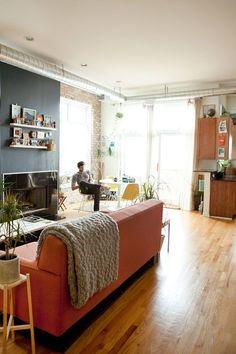 sofa shop, house tours, grey walls, living rooms, shop guid, apart therapi, living room colors, craig tiki, tiki hut