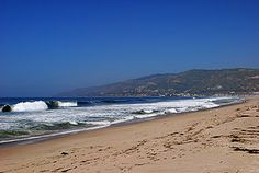 So many childhood memories. Love Zuma Beach!