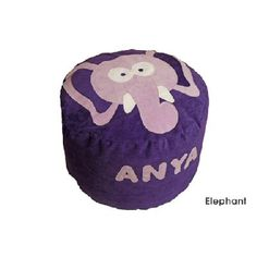 Personalised Elephant Beanbag