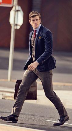 Men's Fall/Winter Street Style Fashion.