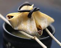 Raviolis au nutella et au thé  http://www.cuisineaz.com