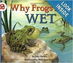 Why Frogs Are Wet (Let's-Read-and-Find-Out Science 2): Judy Hawes, Mary Ann Fraser: 9780064451956: Amazon.com: Books books, mari ann, ann fraser, wet letsreadandfindout, kid book, judi haw, frogs, letsreadandfindout scienc, mary ann