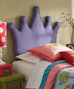 Make this cute headboard for a girls room