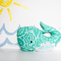Miss Nella the Whale by brighterdaybaby on Etsy