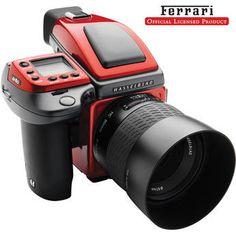 Hasselbald H4D-40 Ferrari Limited Edition Medium Format DSLR Camera Kit with 80mm f/2.8 HC Lens (Price: $29,499.00)