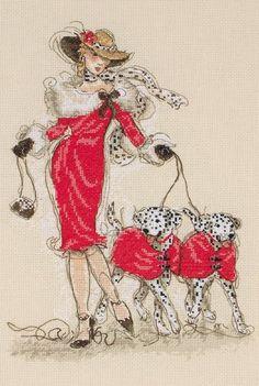 Dancing Dalmatians - Cross Stitch Kit